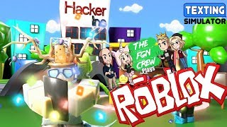 The FGN Crew Plays: ROBLOX - Texting Simulator