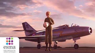 L'aviatrice - ESMA 2016 - Doublé par Marianne James