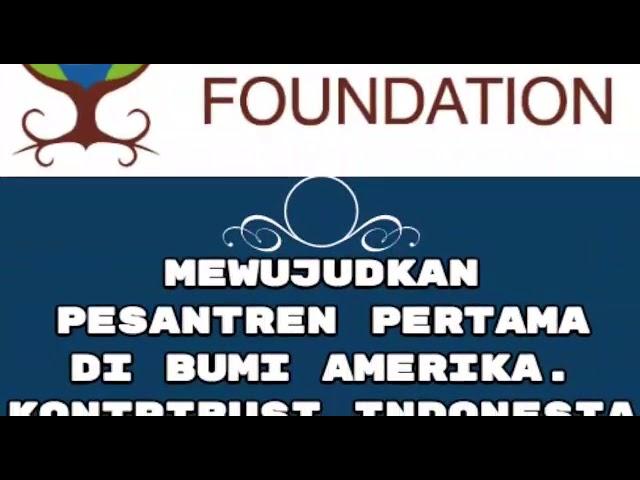 Pesantren Pertama di Amerika Serikat dibangun kiai asal Indonesia