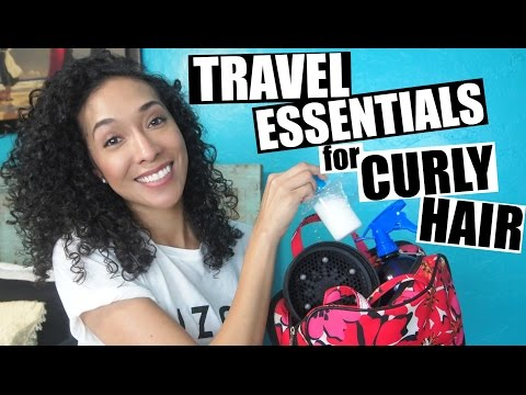 Curly Hair Travel Essentials