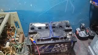 Зарядка обратной полярностью каконоесть 2 аккумулятор стартбат 77 ампер часов