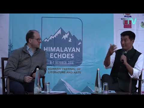 Dr Lobsang Sangay Inconversation with Patrick French on Tibet in India