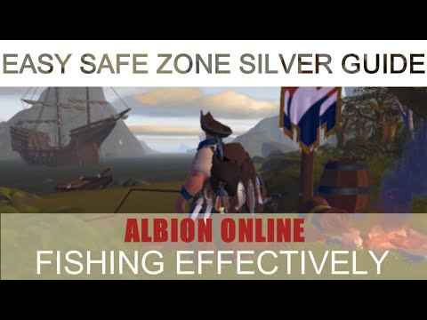 Albion Online : Make Silver By Fishing In Safe Zones