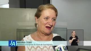 Jornal Acontece - Dia do Hino de Araraquara - LIBRAS