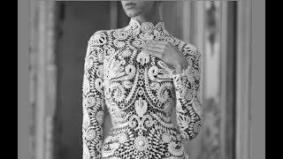 самые красивые узоры ирландское кружево платья
