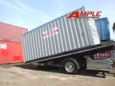 How a Shipping Container is Loaded and Delivered YouTube