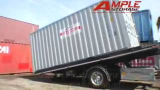 How a Shipping Container is Loaded and Delivered