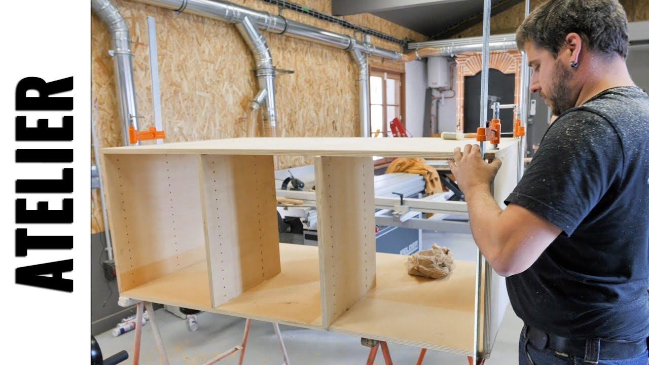 fabriquer un etabli de maker partie 2 le bois ljvs youtube. Black Bedroom Furniture Sets. Home Design Ideas