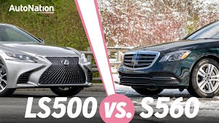 2019 Lexus LS500 vs Mercedes S560: Which Luxury Sedan is Best? #autonationdrive