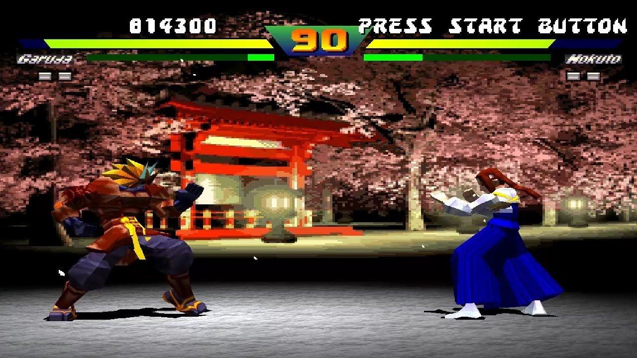 Street Fighter EX 2 Plus (PlayStation) Arcade as Ken