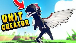TABS - I Used The UNIT CREATOR To Do This To a RAPTOR! - Totally Accurate Battle Simulator