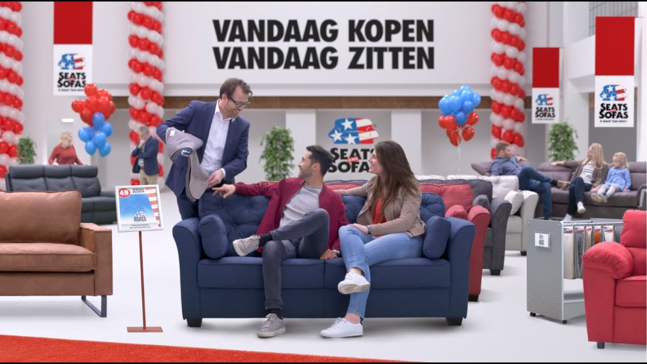 Seats En Sofas Reclame.Seats And Sofas Tv Commercial Maart 2019