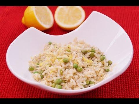 lemon-rice-with-peas-recipe:-easy-side-dish:-diane-kometa:-dishin-with-di-recipe-#77