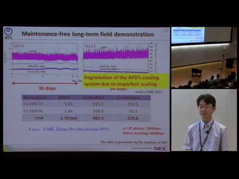 R&D of the Tokyo QKD Network project - Kiyoshi Tamaki