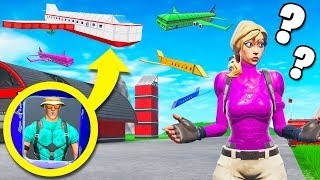 AIRPORT HIDE & SEEK with Jelly (Fortnite Creative Game Mode)