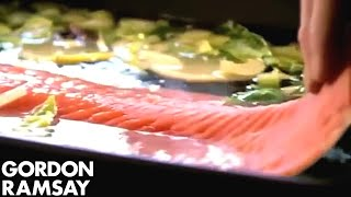 Salmon Salad Nicoise (part 1) - Gordon Ramsay