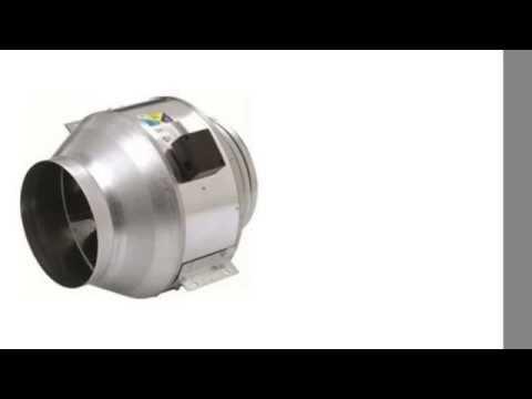 """Fantech FKD 14-230 Inline Mixed Flow 14"""" Duct Fan - 230/1/60"""