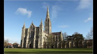 Salisbury Cathedral close up flight | DJI Mavic Pro drone