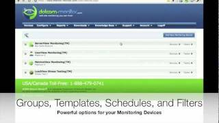 Network Monitoring - Setting Up Alerts Configuration for Monitoring Devices