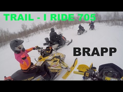 #63 Braaap Chill Skidoo Trail Blog With I Ride 705