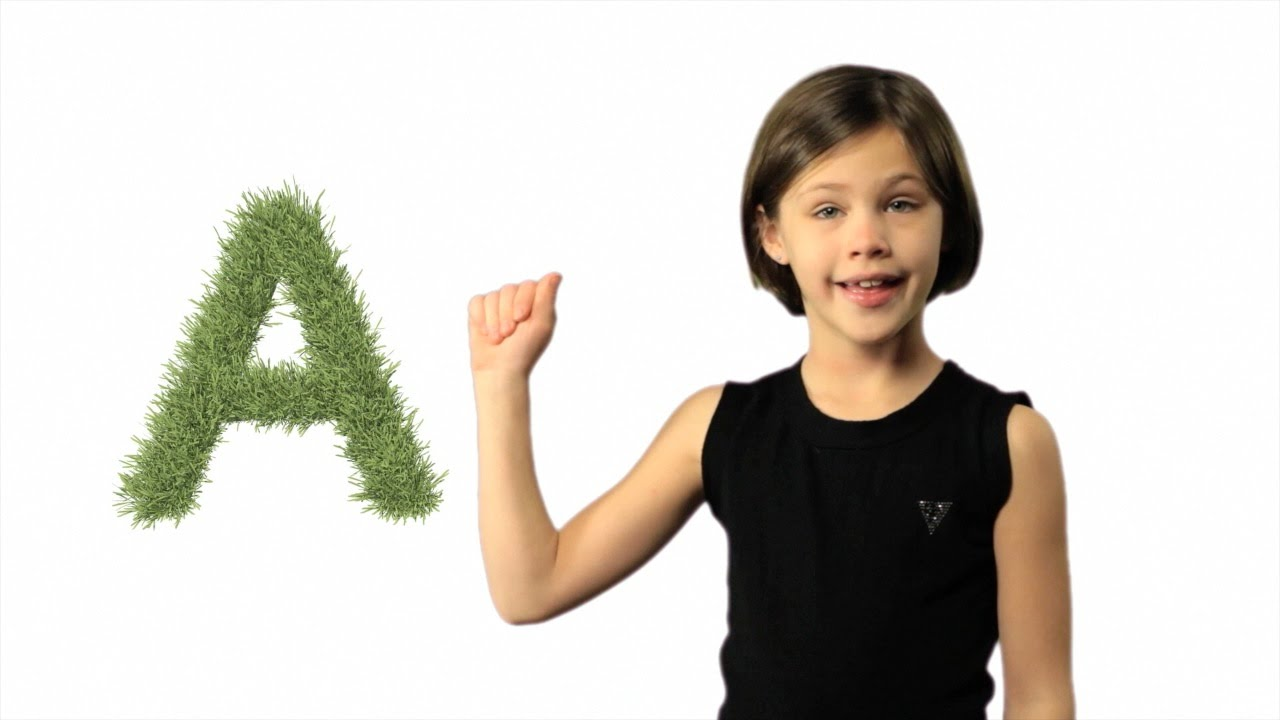 Asl abc lesson and song learn sign language alphabet youtube biocorpaavc Image collections
