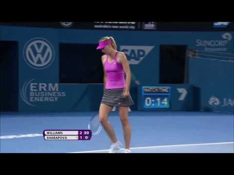 Brisbane Open 2014 | Maria Sharapova Vs. Serena Williams Highlights ᴴᴰ