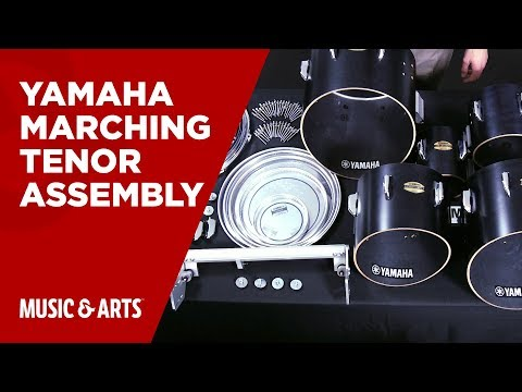 Yamaha Marching Tenor Assembly