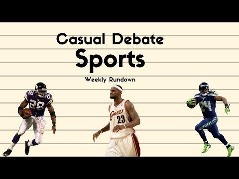 Marshawn to Oakland, AP to NOLA, NBA Playoffs, Weekly Rundown