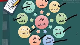 دورة كيف تؤلف كتاباً - الدرس الرابع