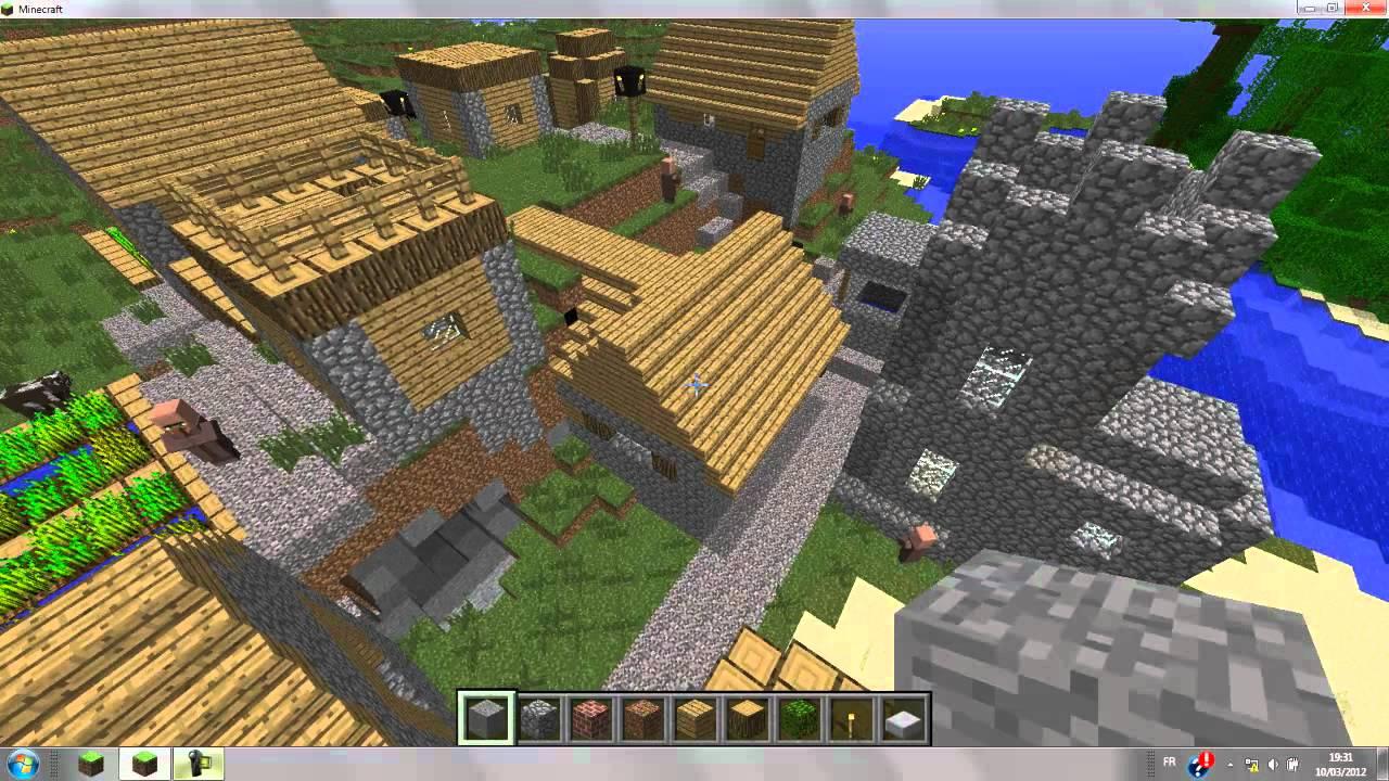Tuto Comment Gnrer Un Village De PNJ Minecraft YouTube