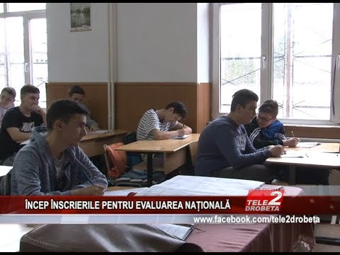 INCEP INSCRIERILE PENTRU EVALUAREA NATIONALA