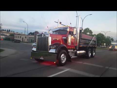 Pro Trucker Alberta Big Rig Show Convoy