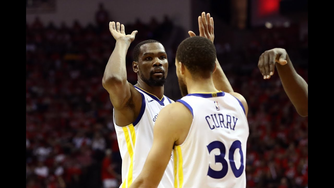 Warriors' Kevin Durant and Steph Curry Combine for 61 Points in Game 7 Win