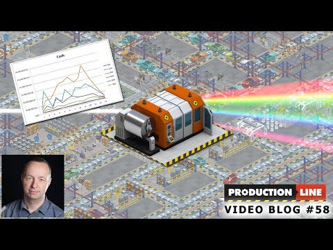 Production Line Game: Dev blog #58 LASER BALANCE FEST