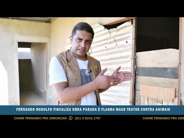 Fernando Rodolfo - Dinheiro público jogado no lixo!
