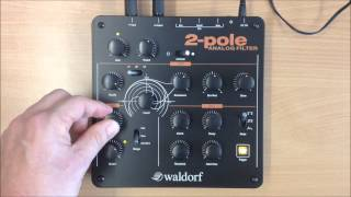 Waldorf 2-POLE ANALOG FILTER -  first soundcheck - HQ Audio