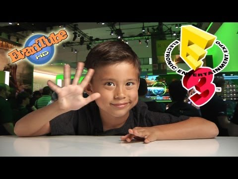 EvanTubeHD goes to E3!!! - Electronic Entertainment Expo 2013 Overview