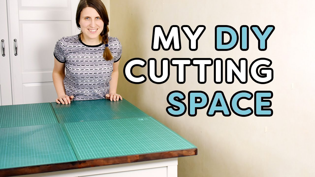 Merveilleux My Ikea Hack Cutting Table And Sewing Storage Space