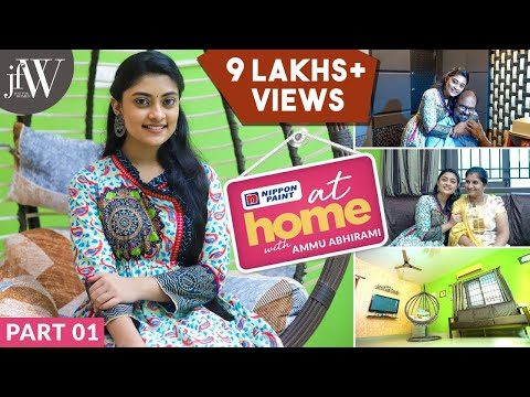 At Home With Ammu Abhirami | I Designed my Own Bookshelf | JFW
