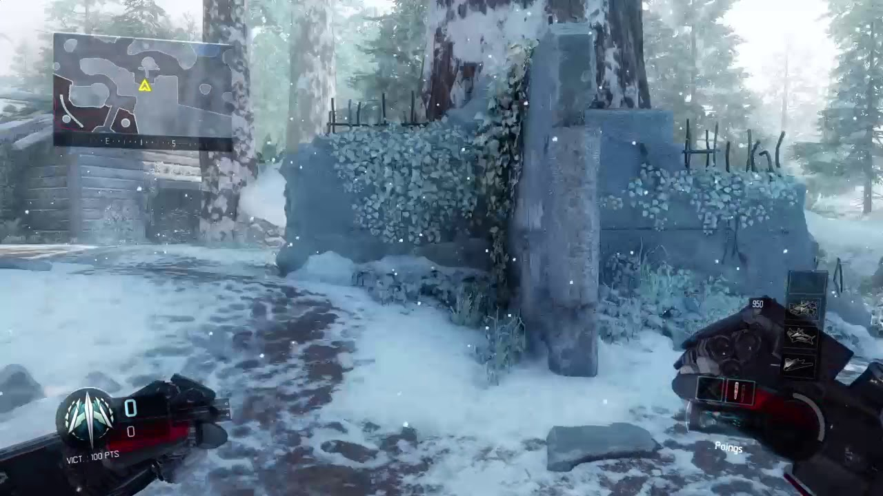 Nouvelle Map Redwood Snow Sur Cod Black Ops Iii Youtube
