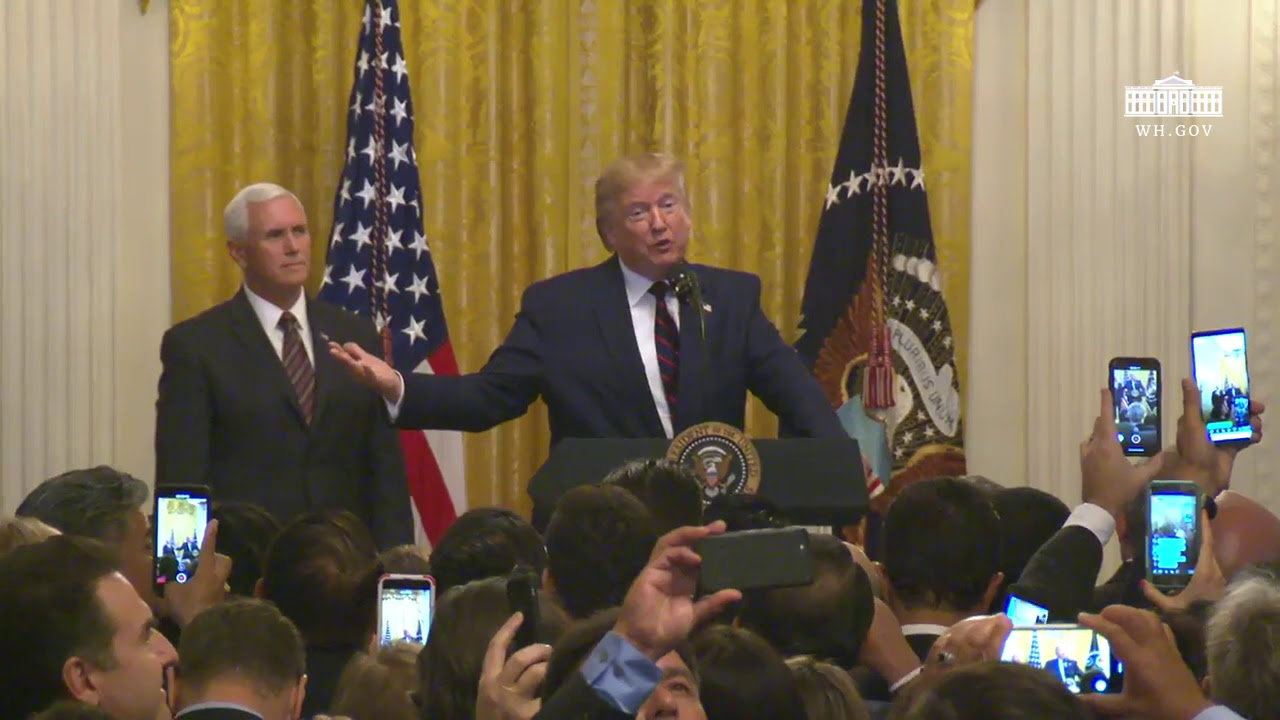 RSBN President Trump Delivers Remarks at the Hispanic Heritage Month Reception