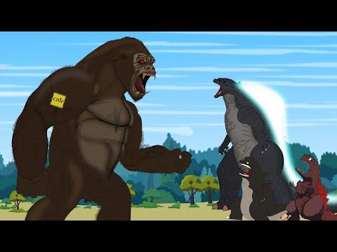 GODZILLA vs KONG: Rescue Mission King Kong - P4 | Godzilla Animation Cartoon