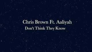 Chris Brown Ft. Aaliyah - Don