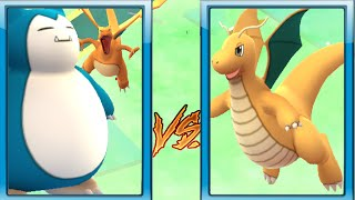 World Strongest Pokemon Gyarados Evolved w/ Gyarados Vs Dragonite - Pokemon Go