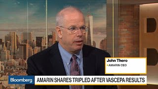 Amarin CEO on Future of Heart Drug Vascepa