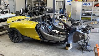 The McLaren 720s ENGINE swap is COMPLETE  - Episode 11