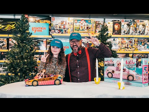 Legetøjs Finn | Afsnit 2 med Karla og 'L.O.L - Car Pool Coupe' 🌸💦
