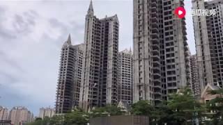 实拍广东惠州烂尾楼群,非常适合拍灾难大片!