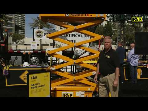 Get Back to Basics and Stay Safe - IPAF at CONEXPO-CON/AGG 2017