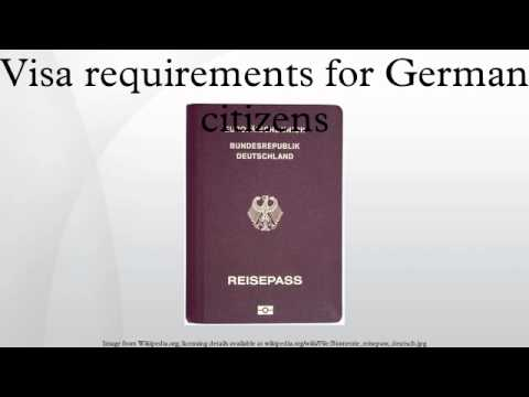 Visa requirements for German citizens